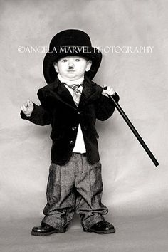 Still think this is my all time favorite photo I have done :) Brett as Charlie Chaplin, costume, hollywood, old  Angela Marvel Photography