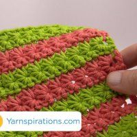 How To Crochet Star Stitch With video tutorial.