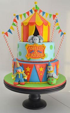8 Birthday Cake Ideas for Twins via Brit Co
