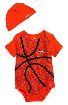 f67f0529691 Nike Basketball Bodysuit   Hat (Baby)