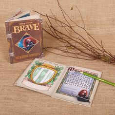 Brave Activity Book