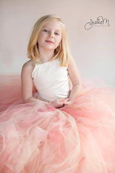 ON SALE Pixie tutu dress..Peach by HippityHootNotion on Etsy