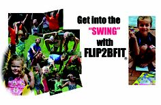 Get in to the SWING of things with Flip2BFit -- Overcome shyness - Build Leadership abilities and Create smarter more confident kids!  Open the Box and simply spin the wheel and flip a card and get your body moving!  Flip2BFit - Fitness in a Box  www.Flip2BFIt.com