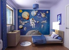 bedroom paint colors: sky-inspired blue and white