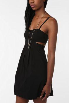 UrbanOutfitters.com > Sparkle & Fade Stretch Cutout Dress