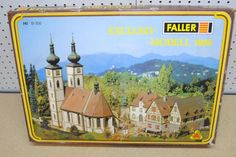 Faller 1986 Monastry Village w/Church Bells Kit *HO-Scale* Ho Scale Buildings, Upcoming Films, In Loving Memory, Miniatures, Kit, Painting, Scale Model, In Remembrance, Painting Art