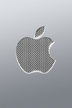 Perfirated Apple Logo iPhone Wallpapers