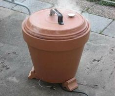 How To Make A Terra Cotta Pot Meat Smoker