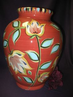 Southern Living At Home Bountiful Urn By Gail Pittman. Use This Handsome  Pottery Piece For