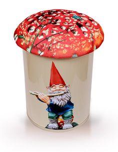 Puff com gnomo da Color Bazaar. #gnome