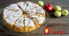 Máte radi vynikajúce jablkové koláčiky, ale nemáte veľa času na ich prípravu? Toto bude pre vás to pravé.Cesto potrebuje iba 3 prísady, koláčik je výborný a veľmi lahodný.