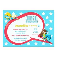 Calling All Superheroes Birthday Party Invitation Superhero Birthday Invitations, Diaper Invitations, Superhero Theme Party, Baby Shower Invitations For Boys, Invitation Examples, Invitation Wording, Invite, Business Invitation