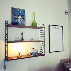 Retro, String, Stringhylla, Stockholm, Rörstrand Stockholm, Floating Shelves, Interior Design, Retro, Home Decor, Nest Design, Decoration Home, Home Interior Design, Room Decor