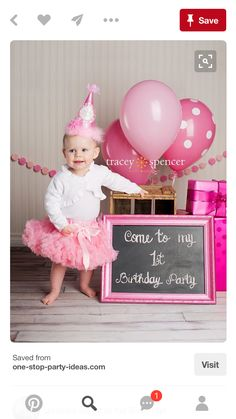 Gorgeous first birthday photo - by Tracey Spencer Photography. Change to thanks for coming to my birthday party Baby Girl 1st Birthday, Baby Birthday, First Birthday Parties, First Birthdays, Cowgirl Birthday, Bebe 1 An, 1st Birthday Pictures, Birthday Ideas, Birthday Photography