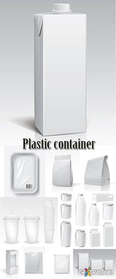 Stock: Plastic container
