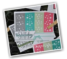 http://www.HandStampedStyle.com shows how to create TONS of cards from the All Shook Up Paper Pumpkin Kit in this class- available local or online.