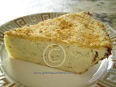 Greek Food Recipes and Reflections: Patatopita... Potato Pie