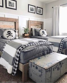 35 Amazing Double Bed for Teen College Bedroom is part of Twin boys room - As a result, if you enjoy the notion of a daybed in your bedroom, do not neglect to decide on […] Big Boy Bedrooms, Boys Bedroom Decor, Girls Bedroom, Twin Boys Rooms, Bedroom Wall, Boys Bedroom Ideas Tween, Modern Boys Rooms, Bedroom Mirrors, Twin Room