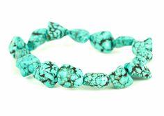 naramok-tyrkys-nepravidelne-kamene Turquoise Bracelet, Bracelets, Jewelry, Jewlery, Jewerly, Schmuck, Jewels, Jewelery, Bracelet