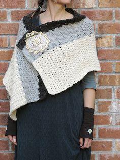sweet crochet shawl / free pattern