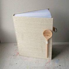 cooking book / handmade / bookbinding / ardeas / Zapisník A5 - Recepty (s vareškou)