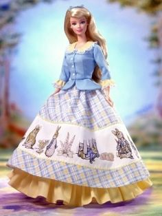 oh my gosh, i remember begging my parents to buy this barbie for me, not cuz i liked barbies but cuz it came with a teeny tiny Peter Rabbit booklet