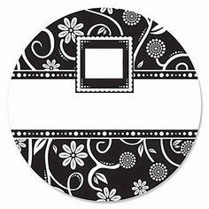 Damascos Negros: Etiquetas, Toppers y Tarjetas para Imprimir Gratis. | Ideas y material gratis para fiestas y celebraciones Oh My Fiesta!