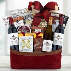 Wine Gift Baskets - Appreciation Corporate Basket Kendall Jackson, Wine Gift Baskets, Business Thank You, Wine Gifts, Wines, Appreciation, Congratulations, Treats, Wine Baskets