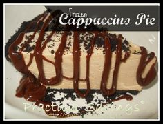 Weight Watcher's Frozen Cappuccino Pie - Practical Savings