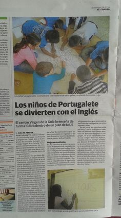 Our project in the newspaper!!! Some students talked about Booky to a news reporter.