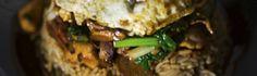 Recette du Bol Renversé, un des grands classiques de la cuisines sino-mauricienne.