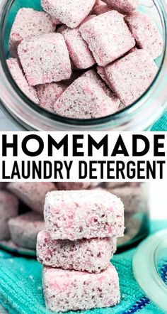 DIY laundry detergent TABS! The easiest homemade laundry soap already portioned out in tabs to just toss in your washing machine! Works great in HE high efficiency washers and standard washing. So easy and great for my sensitive skin. Laundry Detergent Recipe, Homemade Laundry Detergent, Homemade Cleaning Products, Cleaning Tips, Cleaning Recipes, Washers, Soap Recipes, Sensitive Skin, Washing Machine