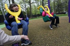 special+needs+playground+equipment   Special Needs Playground Swing