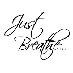 Just Breathe Rubber Stamp Mounted Wood Block Art Stamp Just Breathe Tattoo, Card Sentiments, Stamp Making, Cricut Vinyl, I Tattoo, Nana Tattoo, Wall Quotes, Meaningful Quotes, Cricut Design