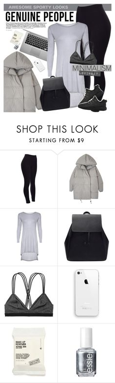 GENUINE PEOPLE - Awesome sporty looks! by vn1ta on Polyvore featuring мода, Victoria's Secret, Comodynes, Essie and adidas