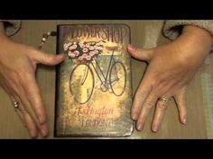 Using napkins in your mixed media - YouTube