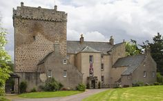 Kilravock Castle in Scotland -- the ancestral home of the Clan Rose. Very strong evidence points to this being the home of my Rose ancestors.