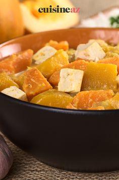 Une recette facile de curry sans viande aux patates douces. #recette#cuisine#curry#patatesdouces Ios, Le Curry, Android, Sweet Potato, Vegetables, Cooking, Sweet Potato Curry, Eat Healthy, Losing Weight