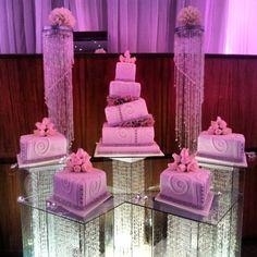 Nigerian wedding separate tier wedding cake by Repocreativa 1