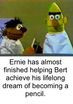 49 Dirty-Humored Bert and Ernie Pics For Your Sunday Entertainment Dark Humour Memes, Dark Memes, Dankest Memes, Jokes, Stupid Funny Memes, The Funny, Hilarious, Funny Names, Sesame Street Memes