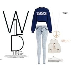 """""""Wild Thing"""" by estefania-03 on Polyvore"""