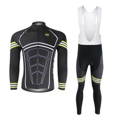 (Shipping with Express or Non-Express)2015 Fashion Cycling Jerseys Jersey For Men Long Sleeve Set Pants or bib vest breathable windbreaker perspiration performance *** Find out more about the great product at the image link.