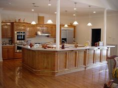 Kitchen Colors With Oak Cabinets the oak cabinets look great with asparagus walls, dark back splash