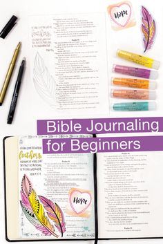 Getting started on your artistic scripture journey is easy with our Bible Journaling kit. The bible journaling kit includes everything that you need to create beautiful and inspirational study notes. This is a perfect Easter gift too! Bible Journaling For Beginners, Bible Study Tools, Study Notes, Easter Gift, Creative Studio, Deep Thoughts, Psalms, Bible Verses, Journals