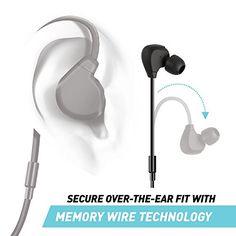 engage ear loop earbuds racer sport buds everlast ear hook ear buds. Black Bedroom Furniture Sets. Home Design Ideas