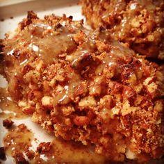 Pretzel-Crusted Honey Mustard Chicken