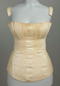 Corsets or Stays become less restrictive and have less boning in them. Men typically made the corsets and they were to smooth out the figure. Women sometimes used cotton or wax to fill out the breast.