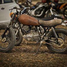 #Yamaha #sr125 #bratstyle