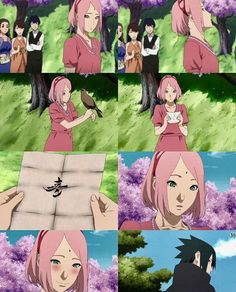 Anyone noticed how beautiful Sasuke's calligraphy is? XD