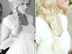 different for wedding hair..